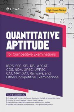 Oswal Quantitative Aptitude For Competitive Examinations