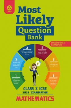 Oswal ICSE Most Likely Question Bank For Class - X Mathematics (March 2021 Exam)