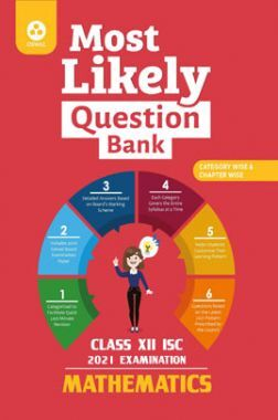 Oswal ISC Most Likely Question Bank For Class - XII Mathematics (March 2021 Exam)