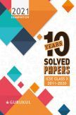 Oswal ICSE 10 Years Solved Papers For Class - X (March 2021 Exam)