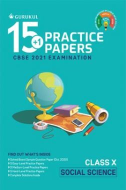 Oswal CBSE 15+1 Practice Papers For Class 10 Social Science For 2021 Examination