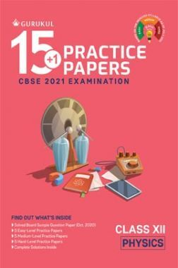 Oswal CBSE 15+1 Practice Papers For Class 12 Physics For 2021  Examination
