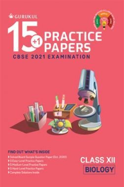 Oswal CBSE 15+1 Practice Papers For Class 12 Biology For 2021  Examination