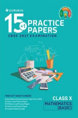 Oswal CBSE 15+1 Practice Papers For Class 10 Mathematics (Basic) For 2021 Examination