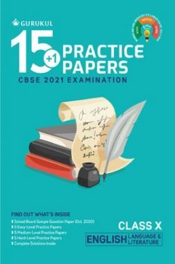 Oswal CBSE 15+1 Practice Papers For Class 10 English Language & Literature For 2021 Examination