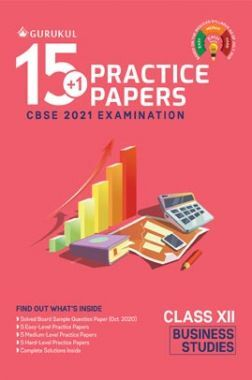 Oswal CBSE 15+1 Practice Papers For Class 12 Business Studies For 2021 Examination