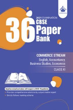 36 Paper Bank Commerce CBSE Class 11 For 2021 Examination