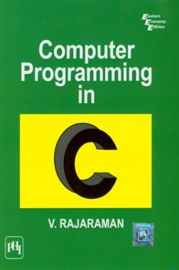 Download Computer Programming In C by V  Rajaraman PDF Online
