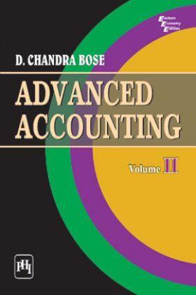 Advanced Accounting Volume-II