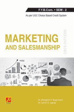 Marketing and Salesmanship (Part - II)