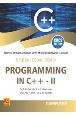 Programming in C++ - II