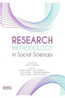 Research Methodology In Social Sciences