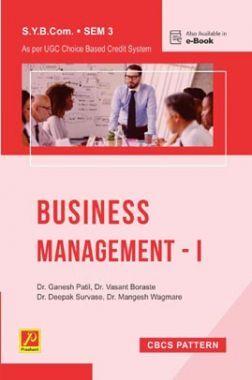 Business Management - I (Sem. III) (SPPU)