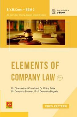 Elements of Company Law - I (Sem. III) (SPPU)