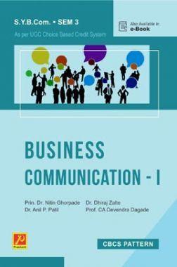 Business Communication - I (SPPU)