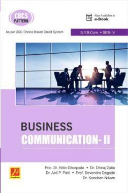 Business Communication-II (Sem VI) (SPPU)