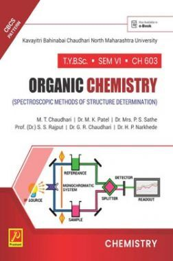 CH-603 Organic Chemistry (Spectroscopic Methods Of Structure Determination) (KBCNMU)