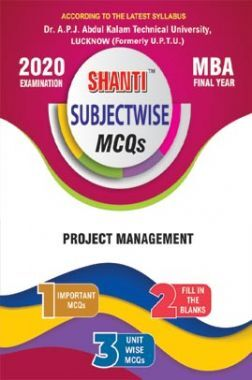 MCQs Of Project Management For MBA