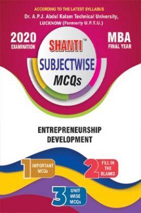 MCQs Of Entrepreneurship Development For MBA
