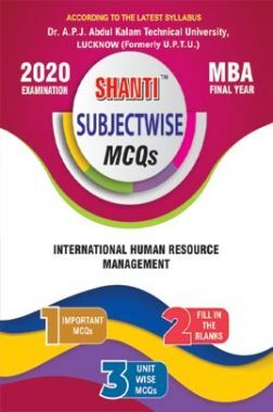 MCQs Of International Human Resource Management For MBA