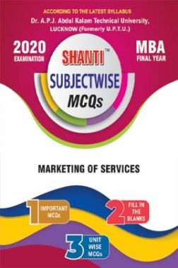 MCQs Of Marketing Of Services For MBA