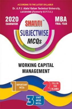 MCQs Of Working Capital Management For MBA
