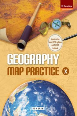 Geography Map Practice Class 10