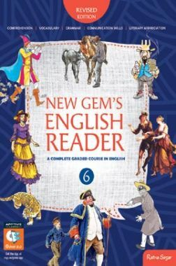 New Gems English Reader For Class-VI