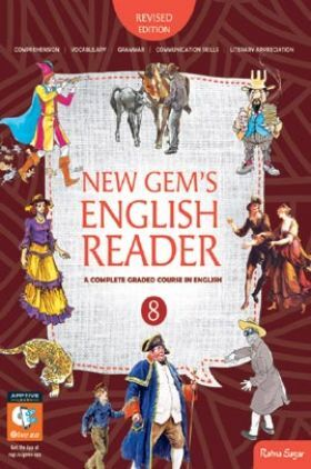 New Gems English Reader For Class-VIII