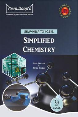 Self-Help To ICSE Simplified Chemistry Class 9