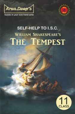 Self-Help To ISC The Tempest For Class 11 And 12