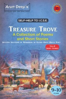 Self-Help To ICSE Treasure Trove A Collection Of Short Stories Class 9-10