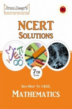 Self-Help To NCERT Solutions Mathematics Class 7