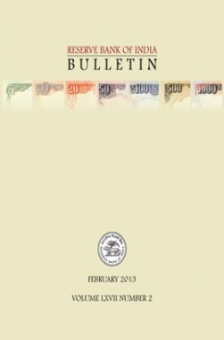 Reserve Bank of India Bulletin February 2013 Volume LXVII Number 2