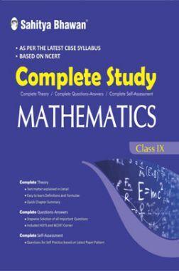 CBSE Complete Study Mathematics For Class - IX