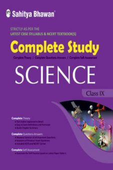 CBSE Complete Study Science For Class - IX