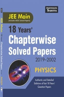 JEE Main Chapterwise Solved Paper Physics 2019-2002