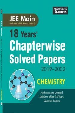 JEE Main Chapterwise Solved Paper Chemistry 2019-2002