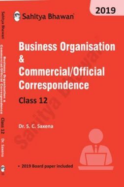 Business Organisation & Commercial /Official Correspondence For Class 12