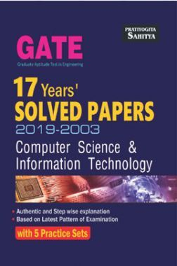 GATE 17 Years Solved Paper Computer Science & Information Technology