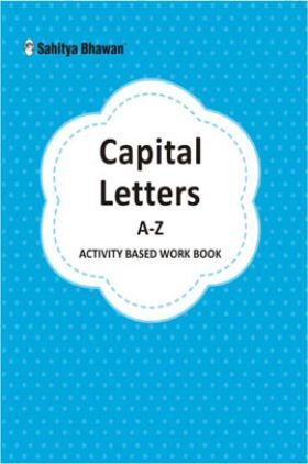 Capital Letters A-Z Activity Based Work Book