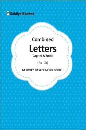 Combined Cursive writing Capital And Small Letters a-z Activity Based Work Book