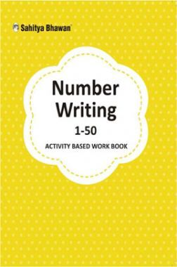 Number Writing 1-50 Activity Based Work Book