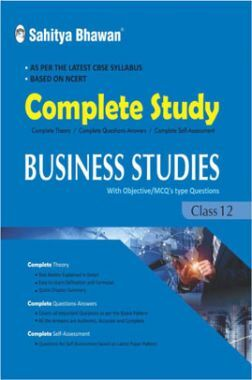 CBSE Complete Study Business Studies For Class 12