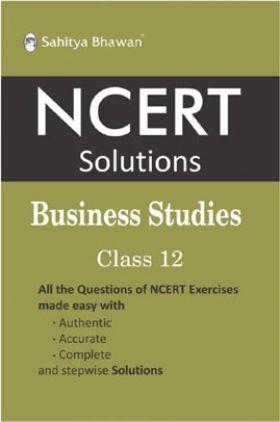 NCERT Solutions Business Studies For Class 12