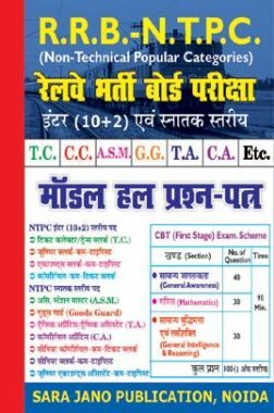 RRB NTPC Exam Model Solve Papers (Hindi) 2020