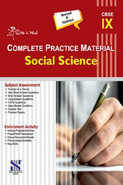 Me n Mine Complete Practice Material Social Science For Class - IX (CBSE)