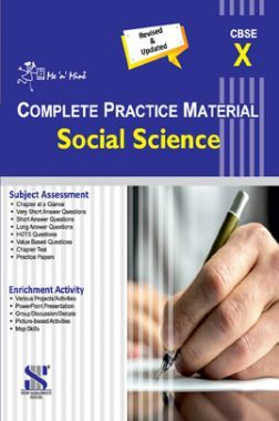 Me n Mine Complete Practice Material Social Science For Class - X (CBSE)