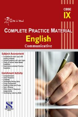 Me n Mine Complete Practice Material English Communicative For Class - IX (CBSE)