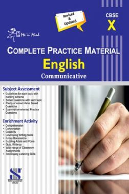 Me n Mine Complete Practice Material English Communicative For Class - X (CBSE)